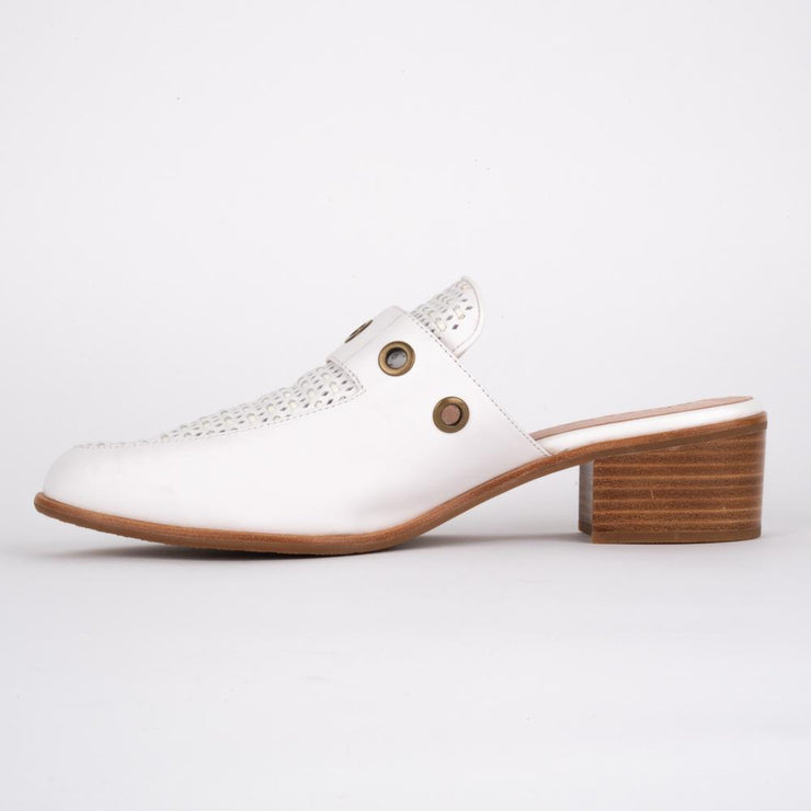 BRESLEY SPEED WHITE MULE - Collectiveoutlet