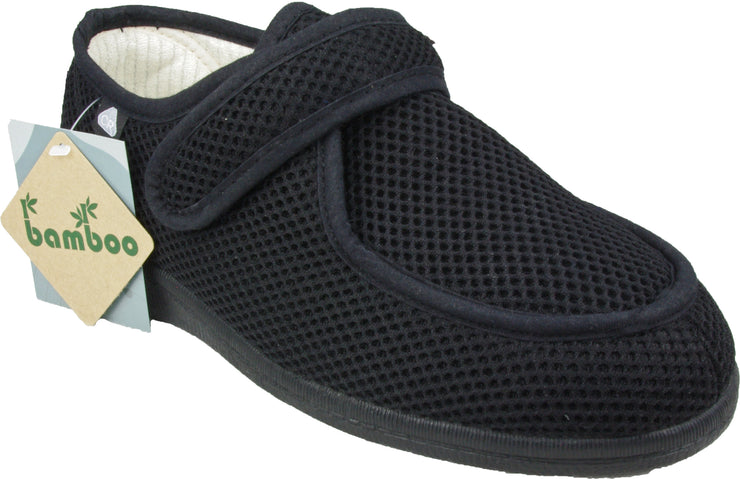 Wallaby Black Slipper - Collectiveoutlet