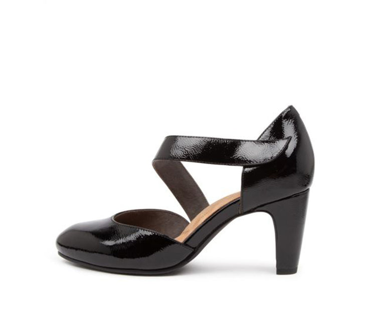 ZIERA TRULY BLACK PATENT - Collectiveoutlet