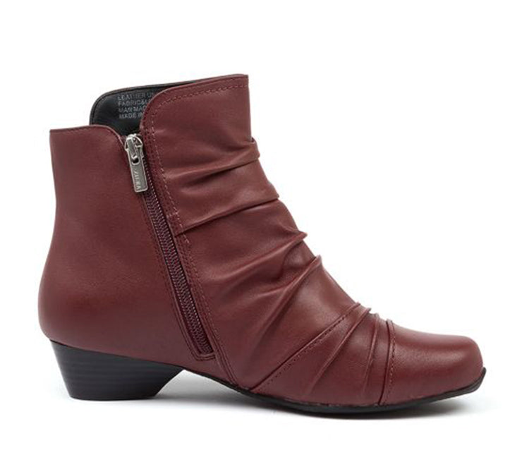ZIERA CAMRYN DARK RED - Collectiveoutlet