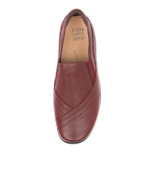 ZIERA JAVA DARK RED - Collectiveoutlet