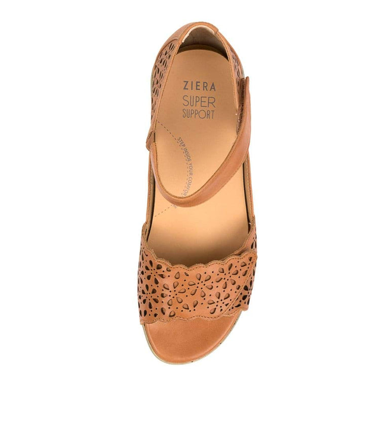 ZIERA DUSTY W TAN - Collective Shoes