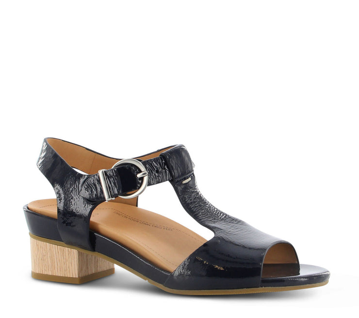 Ziera Annabel Navy Patent - Collectiveoutlet
