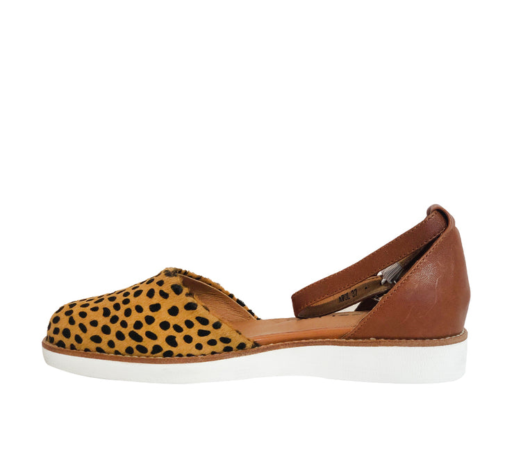 Bresley Awol Tan Leopard - Collective Shoes