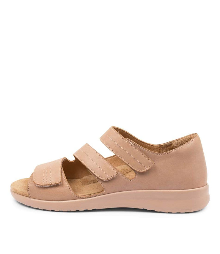 ZIERA BARDOT XW CAFE BLUSHSOLE - Collective Shoes