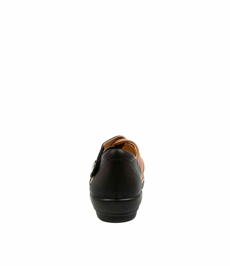 ZIERA DOXIE W BLACK TAN - Collectiveoutlet