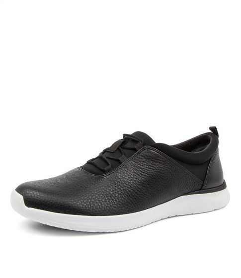 ZIERA FOX BLACK WHITE SOLE - Collectiveoutlet