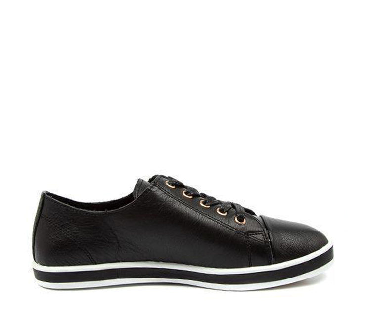 ALFIE & EVIE GREENIE BLACK - Collective Shoes