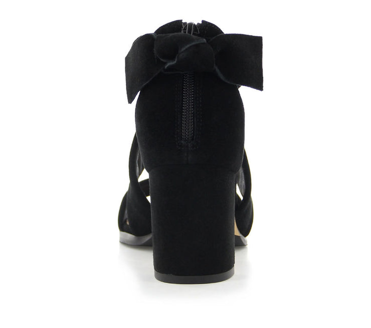 ZIERA JADA BLACK SUEDE - Collectiveoutlet