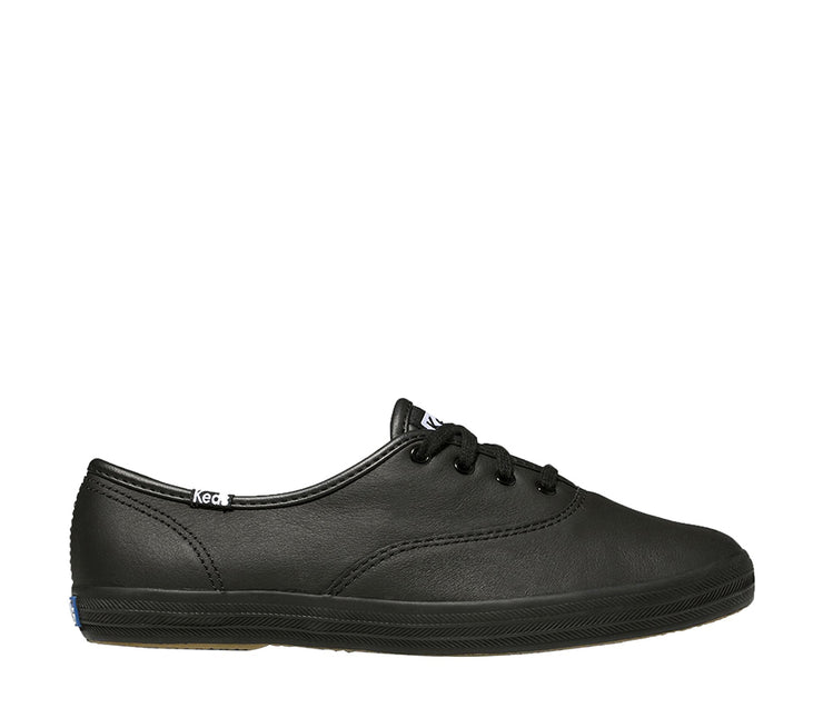 KEDS CHAMPION LEATHER BLACK - Collectiveoutlet