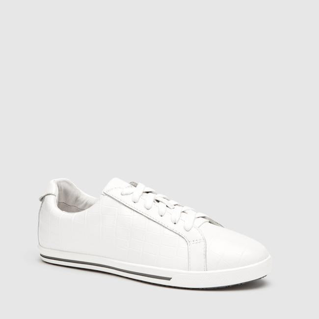 FRANKiE4 LUCY II WHITE CROC - Collective Shoes