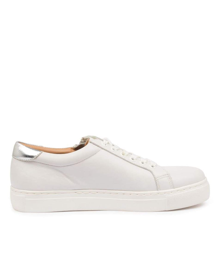 ZIERA PAMELA XF WHITE SILVER - Collective Shoes