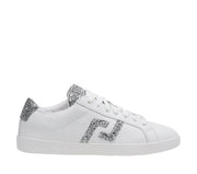 ROLLIE PRIME WHITE SILVER GLITTER - Collective Shoes
