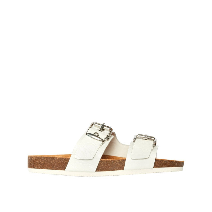 FRANKiE4 SANDY WHITE CROC - Collectiveoutlet