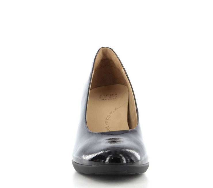 ZIERA TILLY BLACK PATENT - Collectiveoutlet