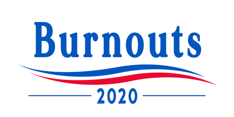 Burnouts Bumper Sticker