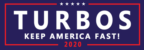 Turbos Bumper Sticker