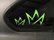 MA Crown Sticker (2 Pack)