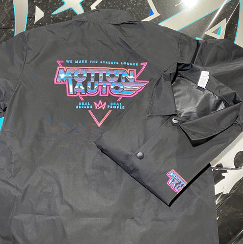 Synthwave Windbreaker
