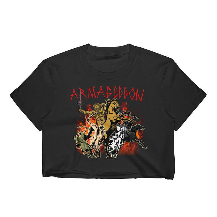 Women's Crop Top - Armageddon