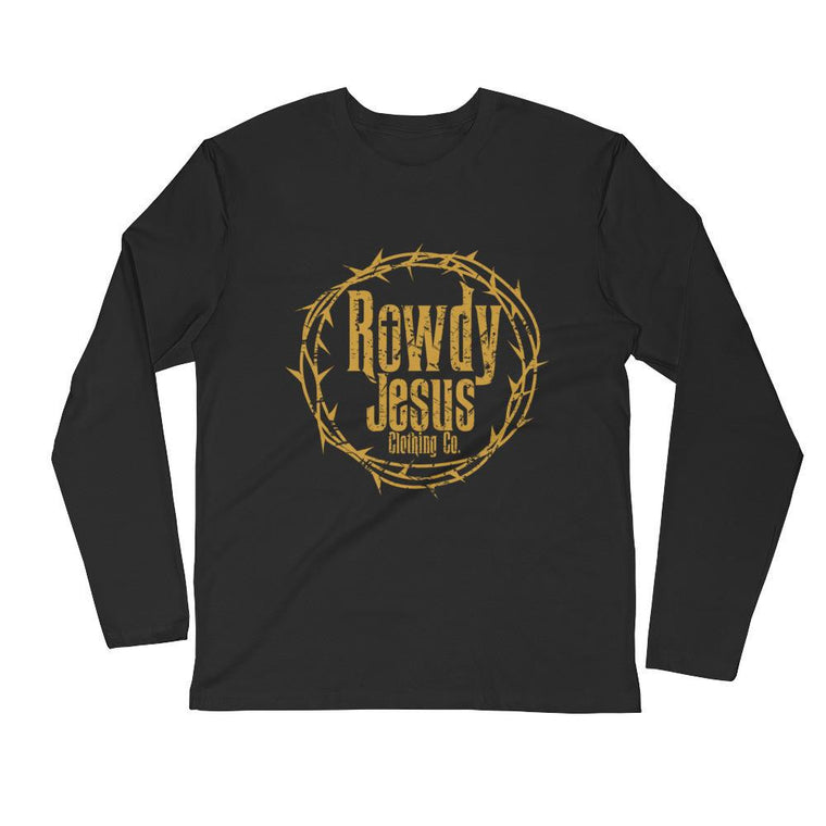 Men's Long Sleeve - Gold Logo
