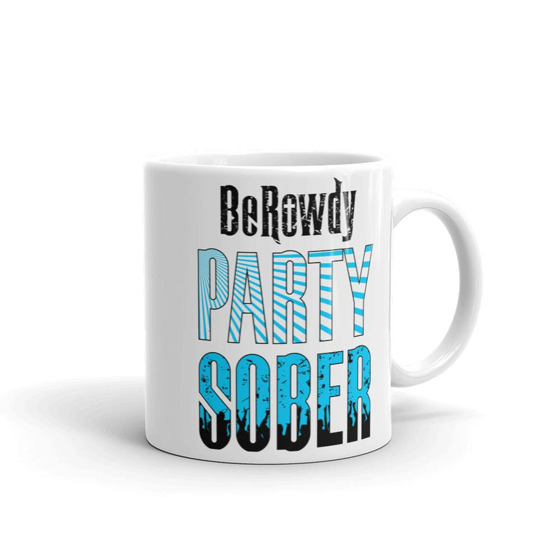 Coffee Mug - Teal Party Sober
