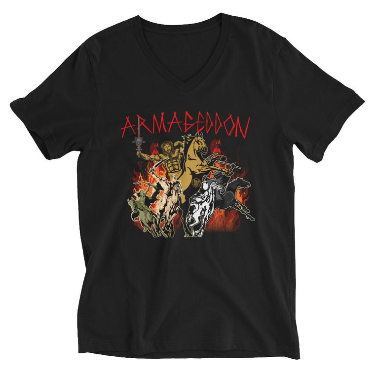 Women's V-Neck Boyfriend Cut - Armageddon