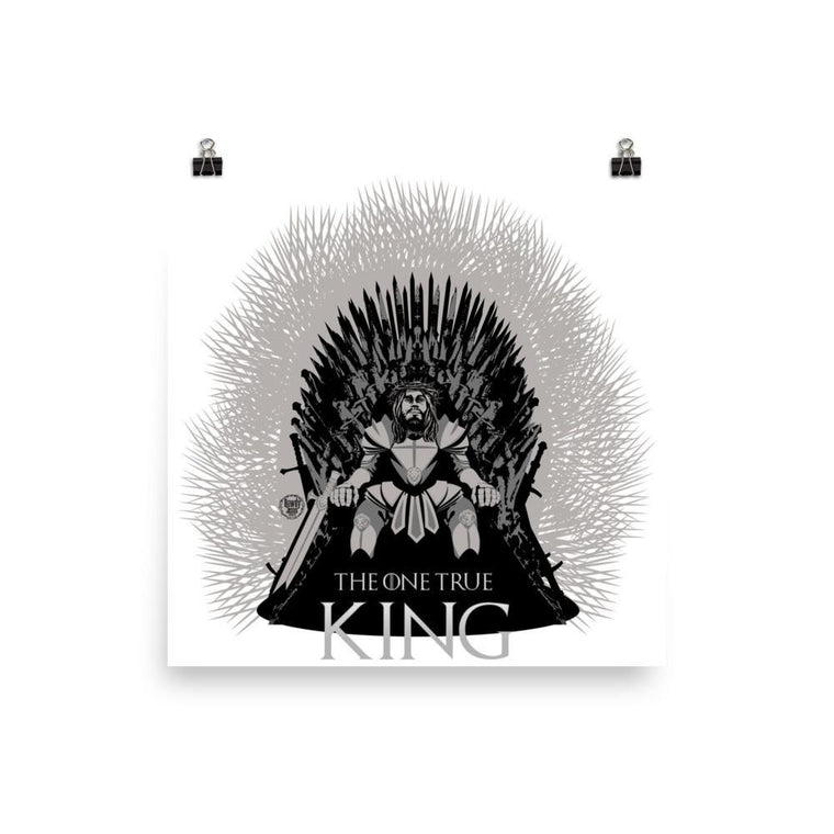 Wall Poster - One True King
