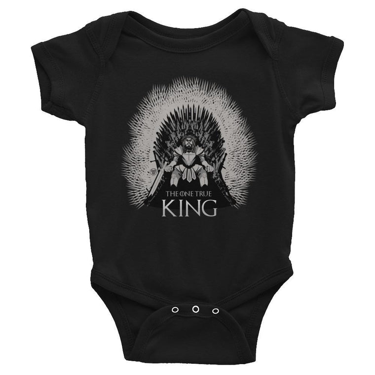 Infant Onesie - One True King