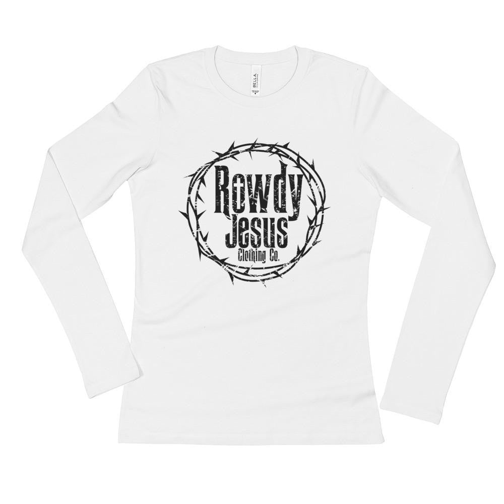 Women's Long Sleeve - Black Logo