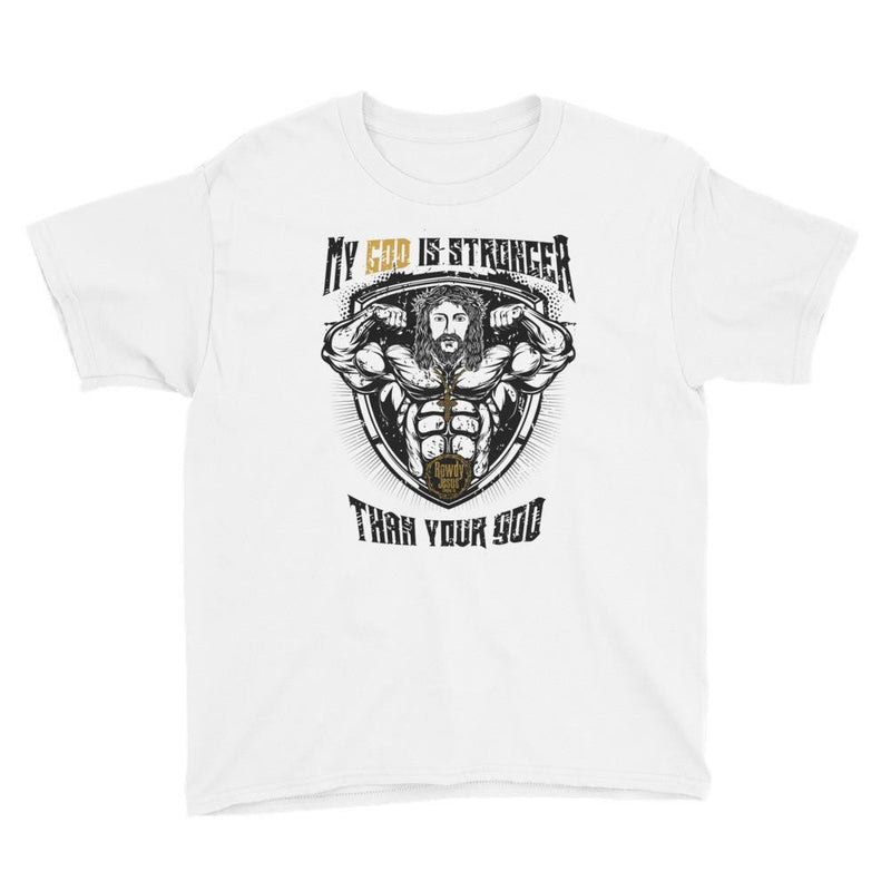 Youth Crew Neck - My God Is Stronger