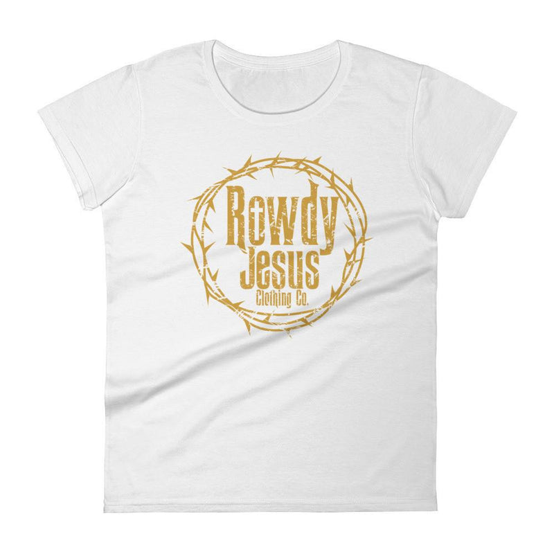Women's Crew Neck - Gold Logo