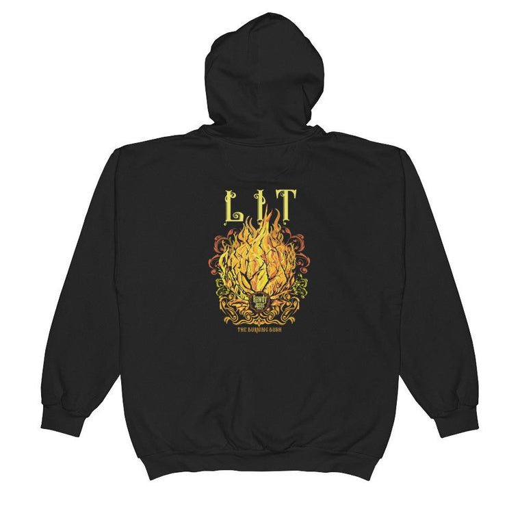 Unisex Zip Hoodie - LIT (The Burning Bush)