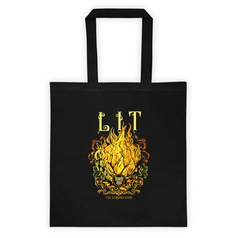 Tote bag - LIT (The Burning Bush)