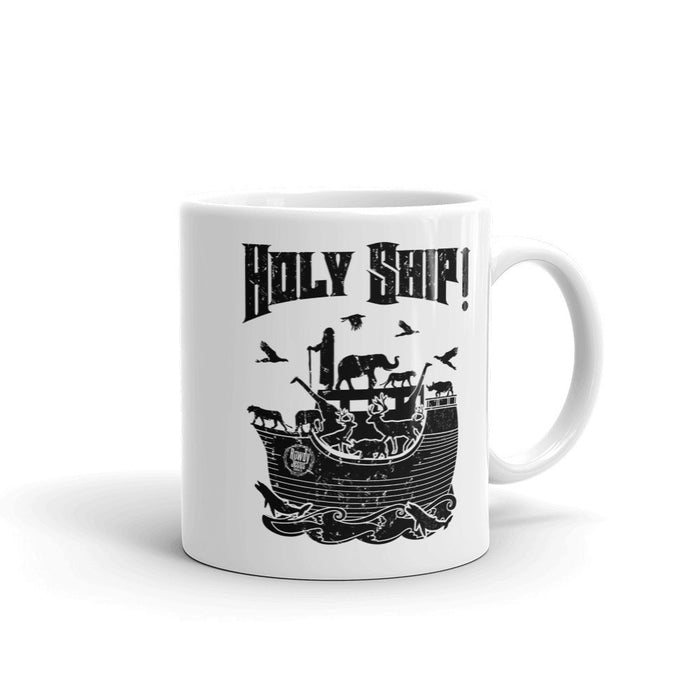 Coffee Mug - Black Holy Ship!