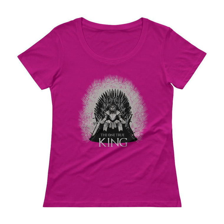 Women's Scoopneck - One True King