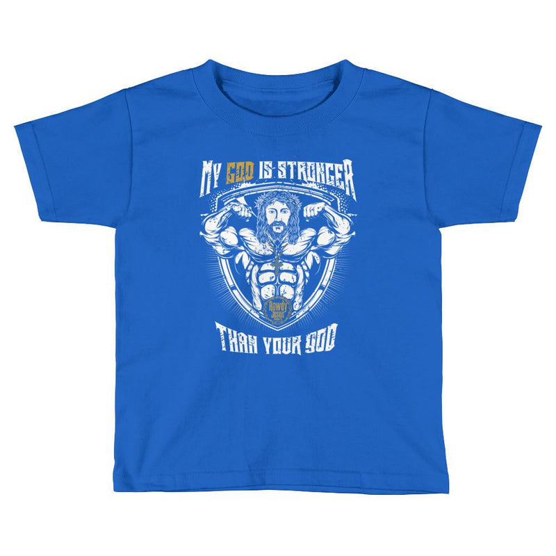 Toddler Crew Neck - My God Is Stronger