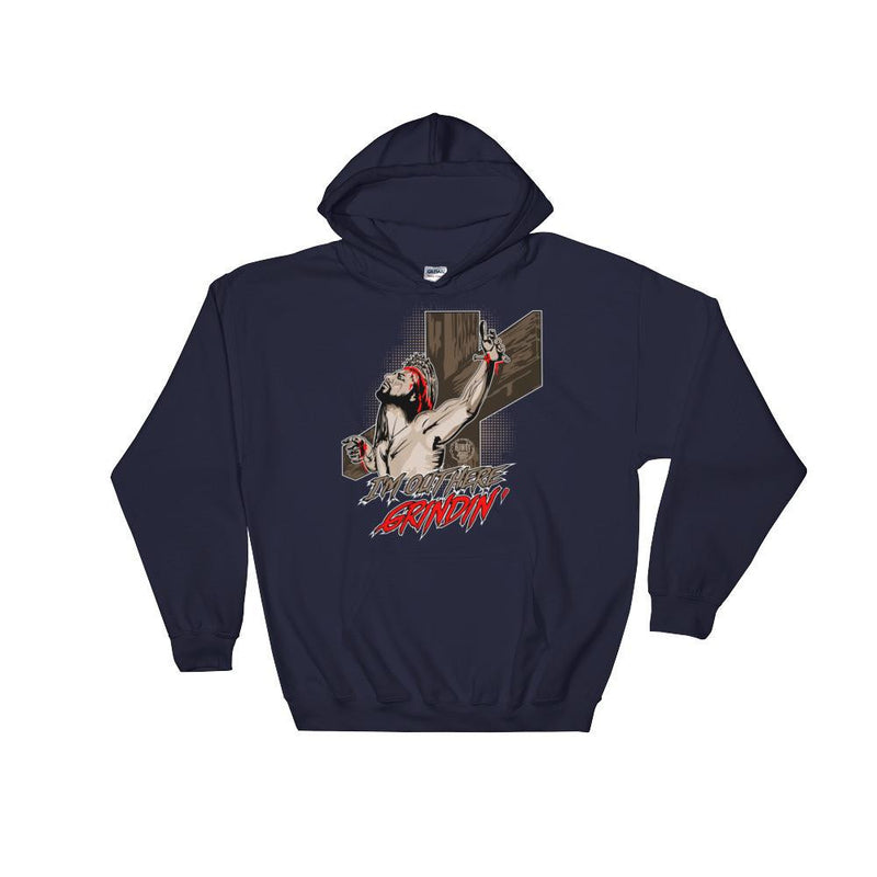 Unisex Hooded Sweatshirt - Grindin