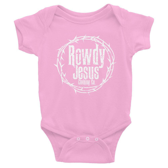 Infant Onesie - White Logo