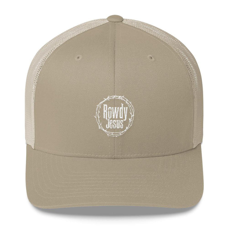 Trucker Cap - White Logo