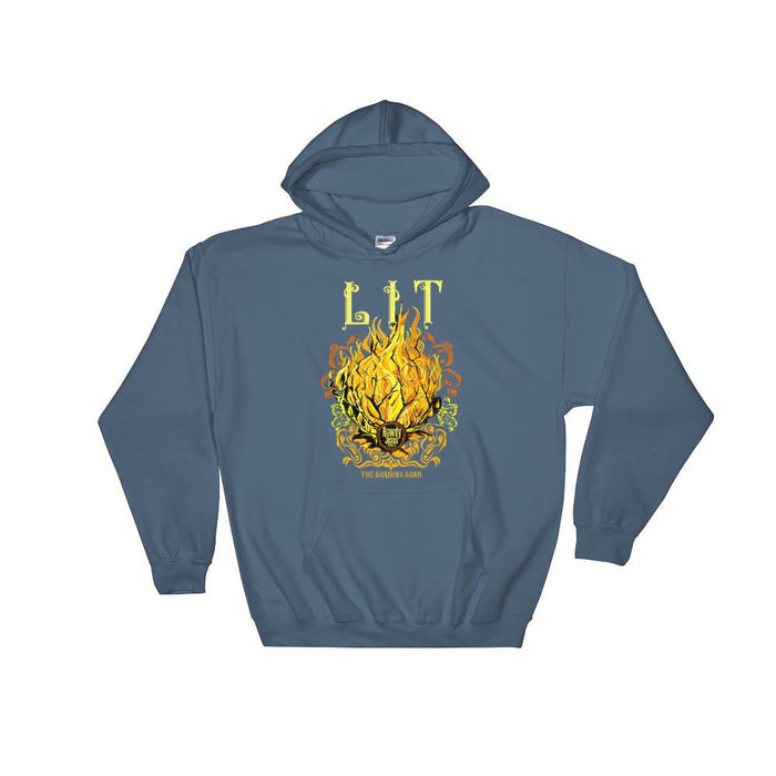 Unisex Hooded Sweatshirt - LIT (The Burning Bush)