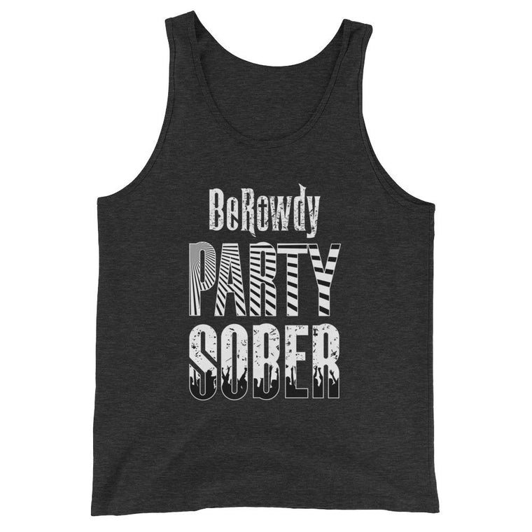 Men's Tank Top - White Party Sober