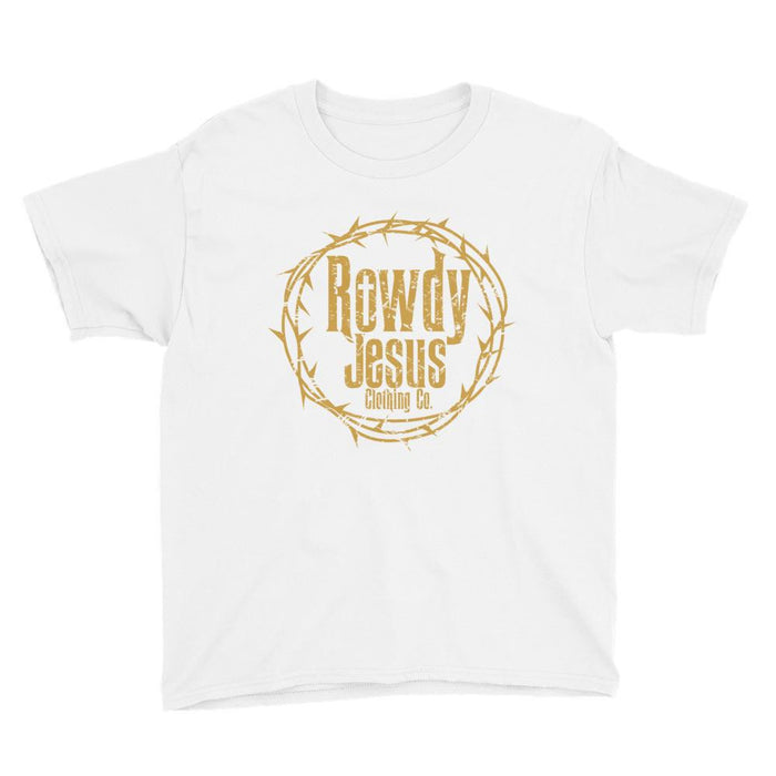 Youth Crew Neck - Gold Logo