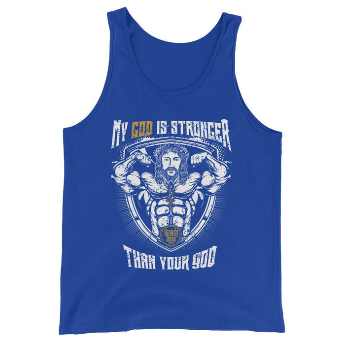 Men's Tank Top - My God Is Stronger