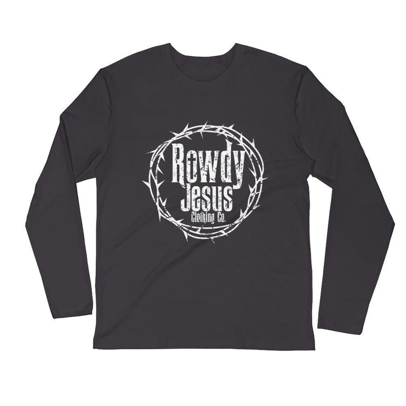 Men's Long Sleeve - White Logo