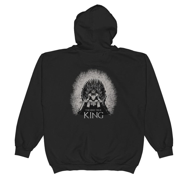 Unisex Zip Hoodie - One True King