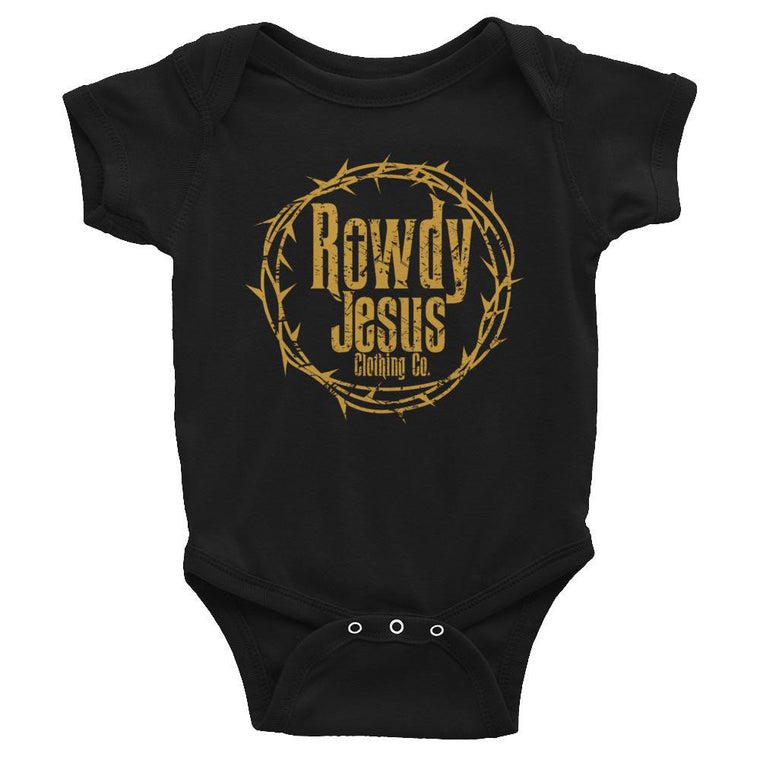 Infant Onesie - Gold Logo