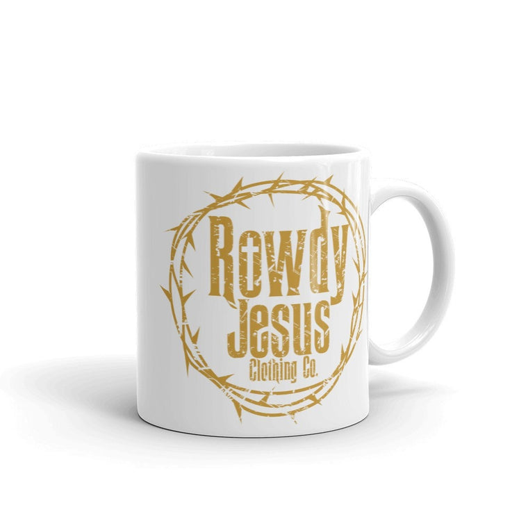 Coffee Mug - Gold Logo