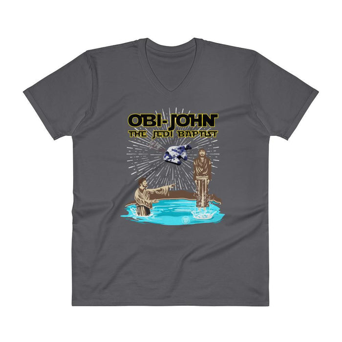 Men's V-Neck T-Shirt - Obi-John