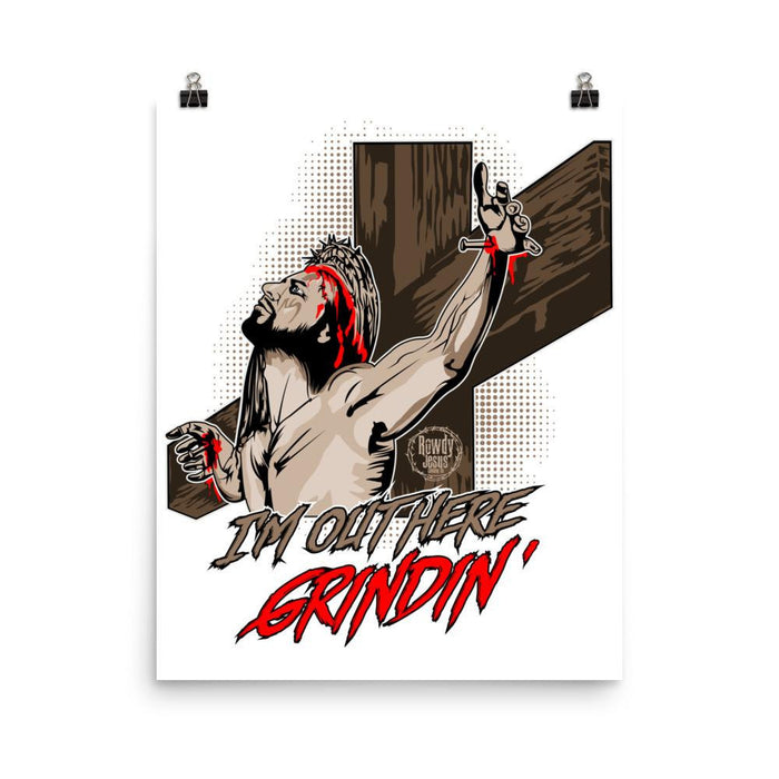 Wall Poster - Grindin